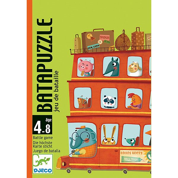 Board game DJECO Bata-puzzle балетки bata bata ba060awqea84