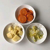 美味可口的鲜虾蔬菜丸子的做法图解4