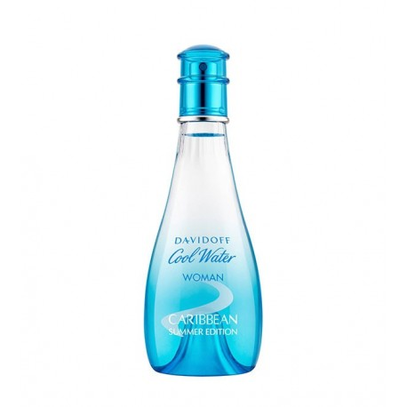 DAVIDOFF COOL WATER CARIBBEAN SUMMER EDITION EDT 100ML WOMAN