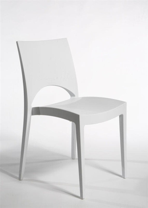 Chair SABA, Polypropylene White