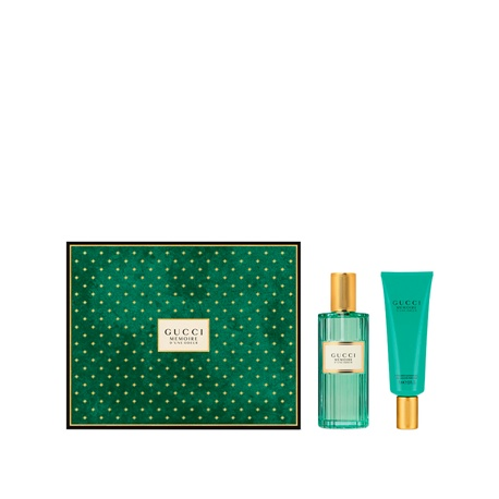 GUCCI UNE MEMOIRE D ODEUR EDP 100ML + 75ML SHOWER GEL