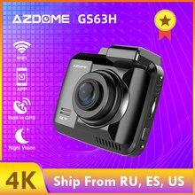 AZDOME GS63H двойной объектив Встроенный gps Wi Fi FHD 1080P спереди+ VGA сзади камера dvr автомобиля регистраторы 2160 P регистраторы Новатэк 96660 Dashcam