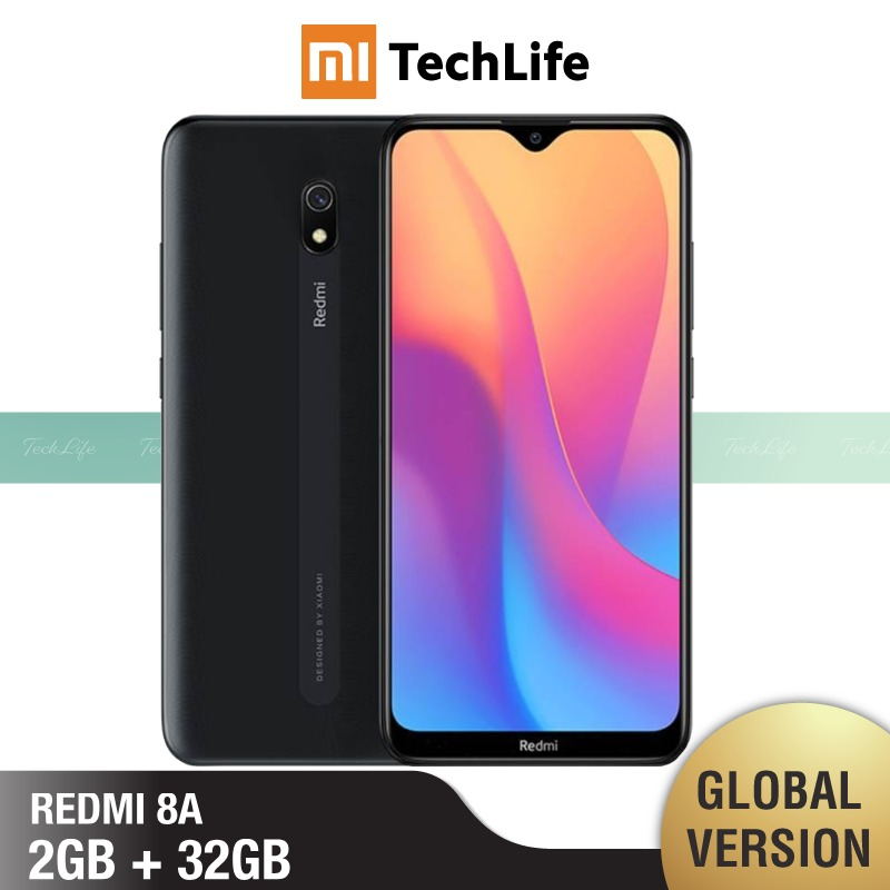 Global Version Xiaomi Redmi 8A 32GB ROM 2GB RAM (Brand New / Sealed) Redmi 8a, Redmi8a