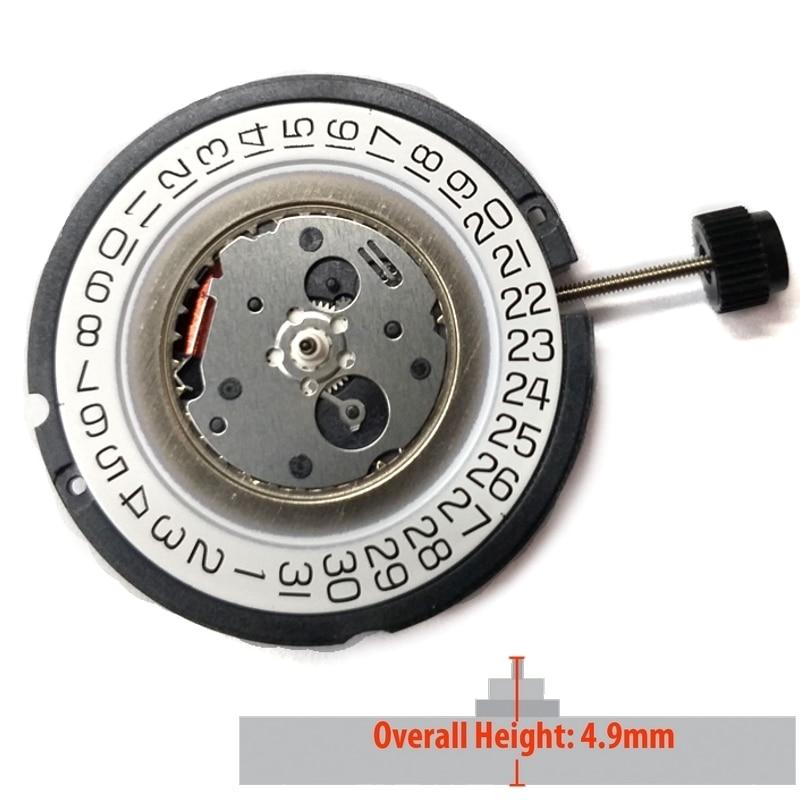 Hand Quartz Assista Movimento Data às 3:00 Altura Total 5.1mm Eta 805.112 3