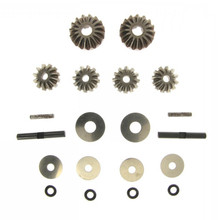 HSP 1/5 Gas Truck RC Car Parts HSP 50067 Front / Rear Diff. Gear Set 1 5 rc car metal middle complete diff gear set metal middle differential assembly fit rovan lt losi 5ive t toy parts