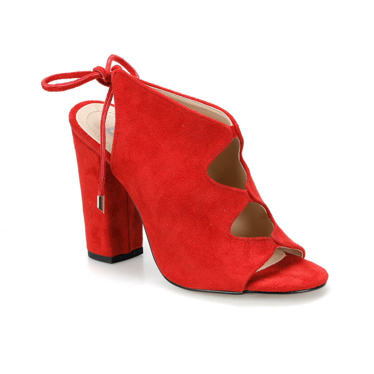 FLO DS19049 Red Women 'S High-Heeled Boots Miss F