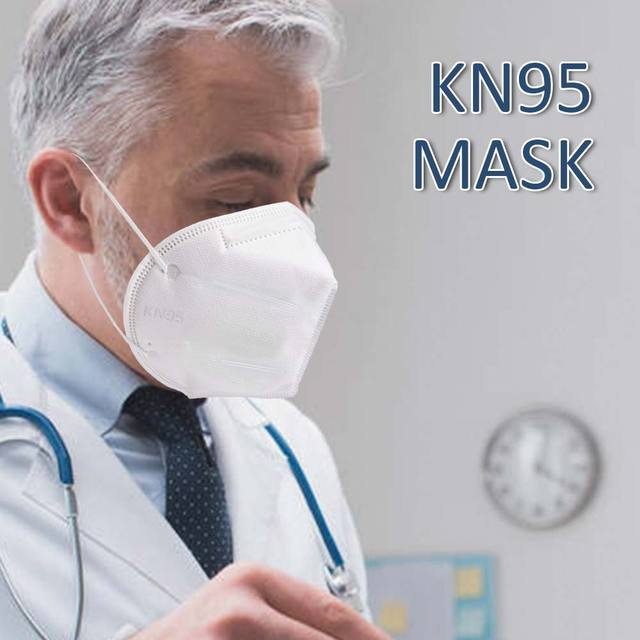 10pcs KN95 Face Mask Protective Mask Safety Masks 95% Filtration for Dust Particulate Pollution N95 Protection 1