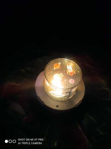 Projecteur Veilleuse Galaxie photo review