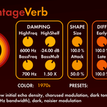 Valhalla VintageVerb (Win) VST FOR PRODUCERS AND BEATMAKERS