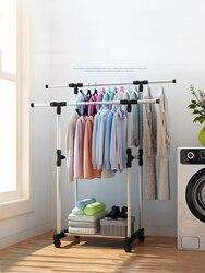 SOKOLTEC Double outdoor mobile rack for clothes HW47875