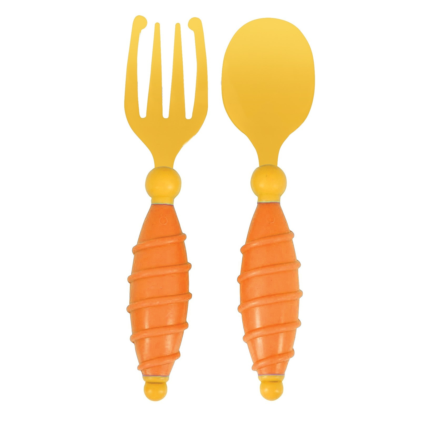 Ebebek Mycey Baby Easy Grip Fork Spoon Set