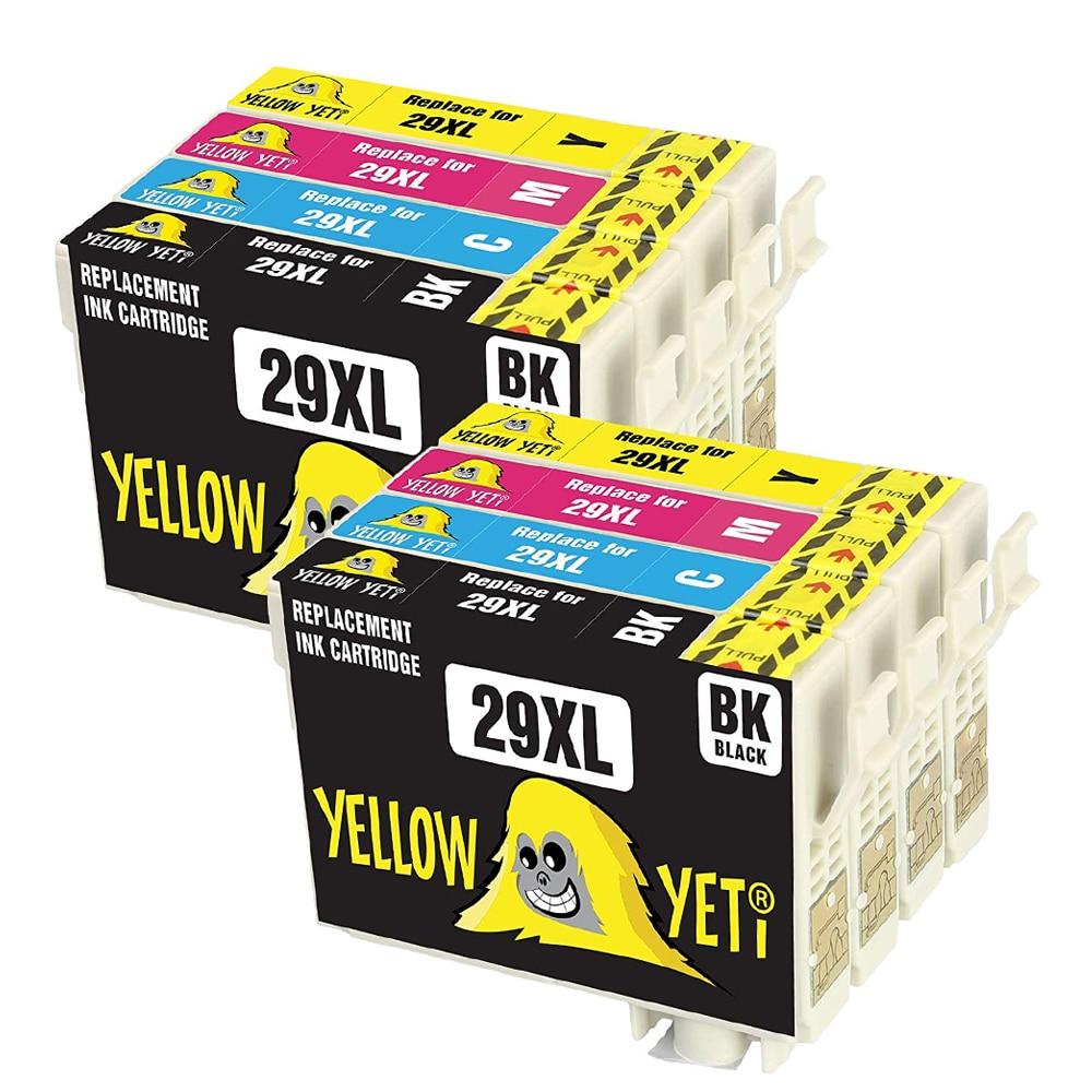 8pcs Compatible 29XL T2991 Ink Cartridge For EPSON XP255 XP257 XP352 XP432  XP455 XP 255 257 352 432 455 Printer