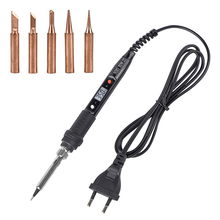 Tin Soldering Iron Electric Kit Welding Tools with Solder Tip Adjustable temperature 908S Soldering Electric Pencil Repair Tool