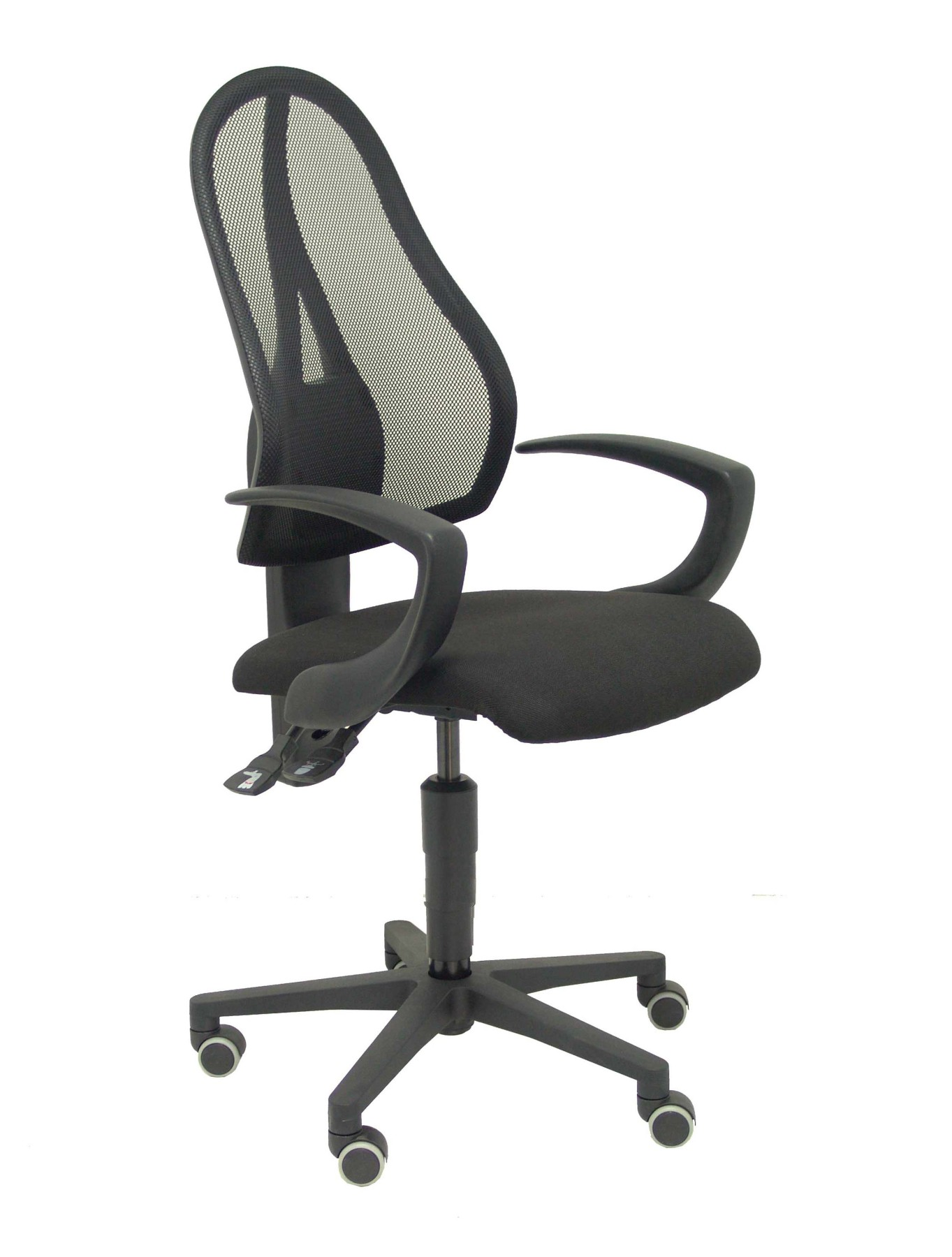 Ergonomic Office Chair Mechanism Permanent Contact, Fixed Arms-breathable Mesh Backrest In Colo