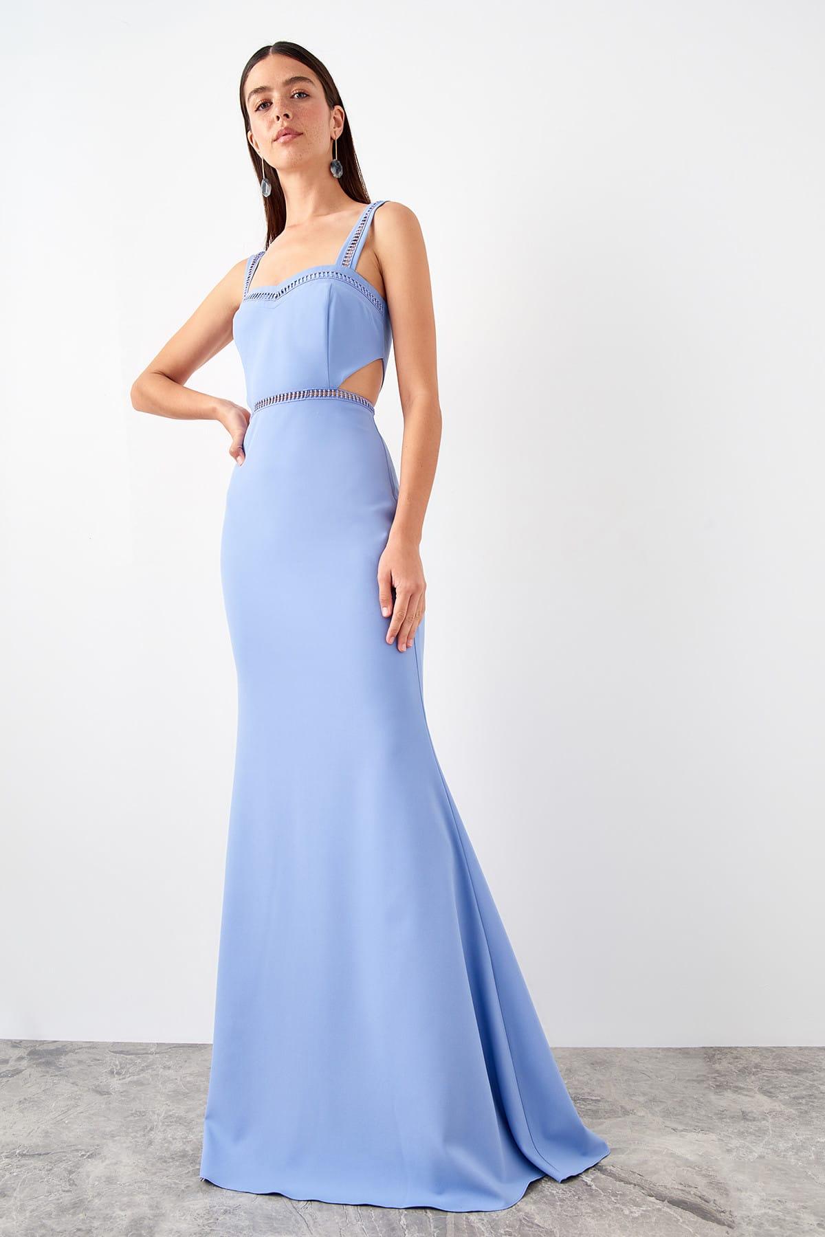 Trendyol Accessory Detailed Evening Dress TPRSS19FZ0458
