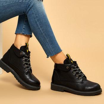 FLO AZOG Black Women Boots BUTIGO