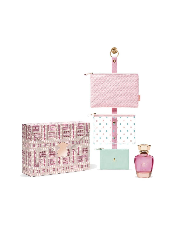 Kit Tous colonia tous bolso perfume mujer colonia bolso tous neceser kit regalo| | - AliExpress