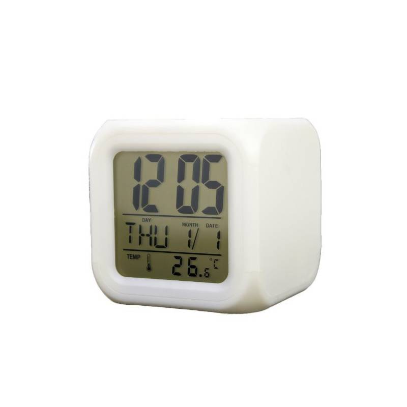 Alarm Clock Led 7 Color Changing