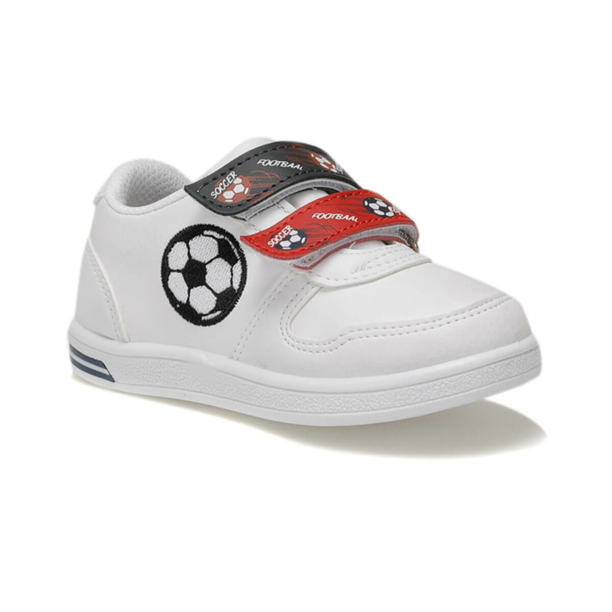 FLO SOCCER White Male Child Sneaker Shoes I-Cool