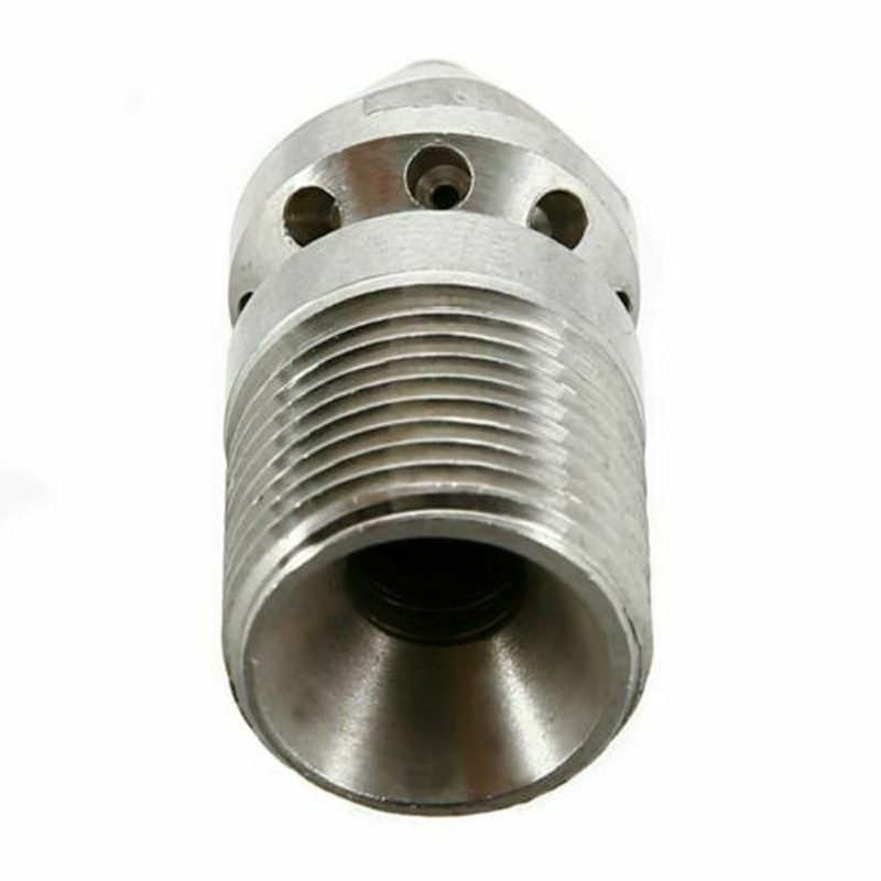 U9ed90fc1548b442a8ffb94c6fe7e1c75I 1/4'' 3/8 '' Cleaning Nozzle Pressure Washer Drain Sewer Cleaning Pipe Jetter Spray Nozzle 4 Jet Garden Accessories Tools