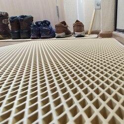 Alfombrilla de entrada en el pasillo-pasillo, alfombrilla de baño, alfombra en el suelo de material Eva impermeable, antideslizante