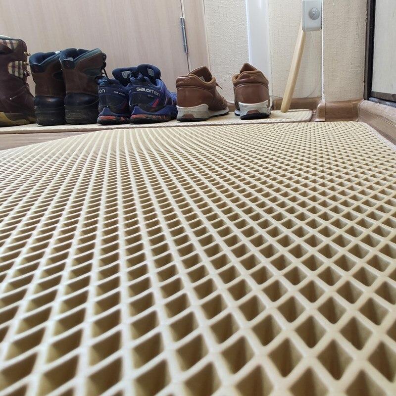 Ingresso Zerbino nel corridoio-corridoio, bagno Zerbino, tappeto sul pavimento di Eva Zerbino erial impermeabile, anti-slittamento