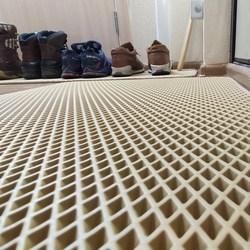 Tapis d'entrée de couloir-couloir | Tapis de salle de bain, tapis sur le sol en matériau Eva étanche, antidérapant