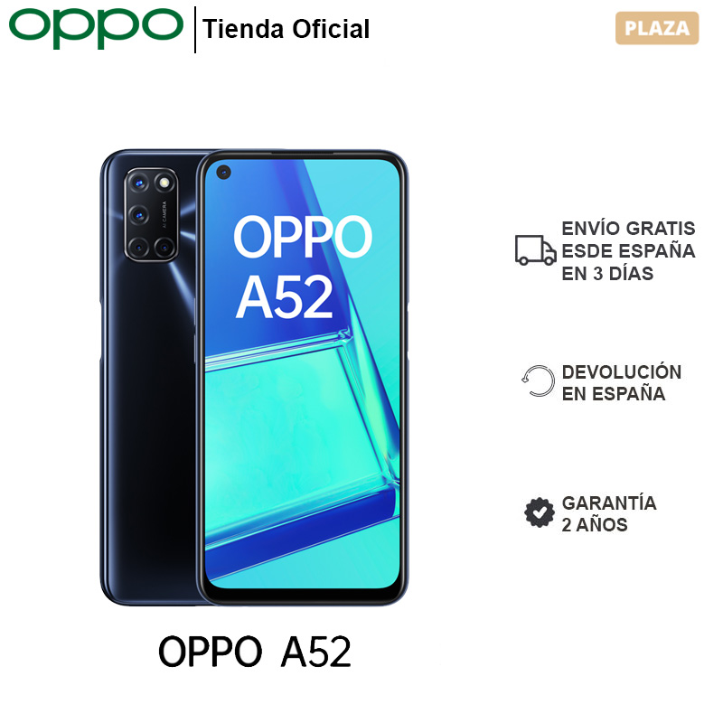 OPPO A52 4GB/64GB, Smartphone, Pantalla 10809 Neo Display, Carga Rápida, Batería 5000 mAh, ColorOS 7.1, 2 Años Garantía|Teléfonos móviles| - AliExpress