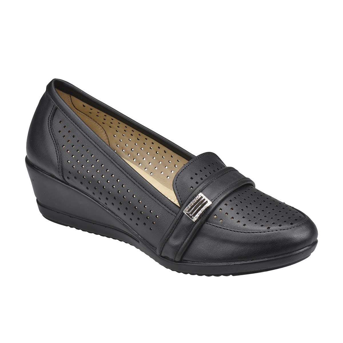 FLO 61.156461.Z Black Women Shoes Polaris