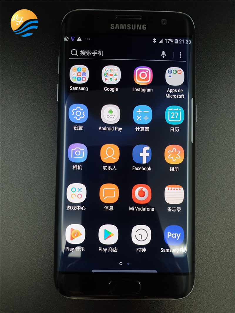 Samsung Galaxy S7 край G935U Мобильный телефон 5,5 ''смартфон Quad-core 4 Гб оперативной памяти, 32 Гб встроенной памяти, Android разблокирована Super AMOLED сотовый те...