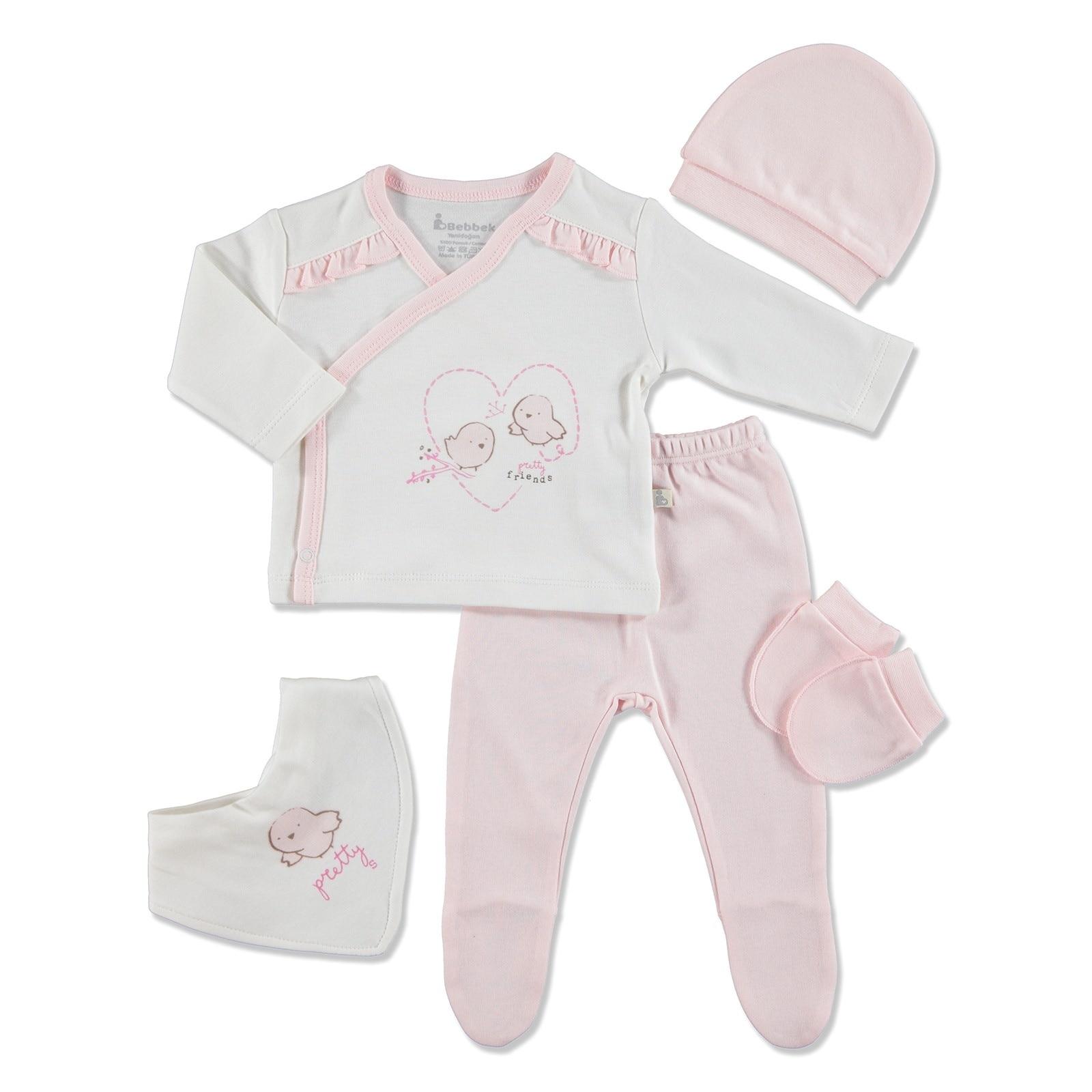 Ebebek Bebbek Lovely Newborn Hospital Pack 5 Pcs
