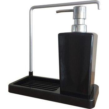 Primanova Pendant Kitchen Liquid Soap Dispenser Black Luna