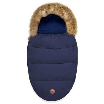 DEÄREST Newborn Baby Winter Warm Sleeping Bag Zipper Wrap Stroller Bedding