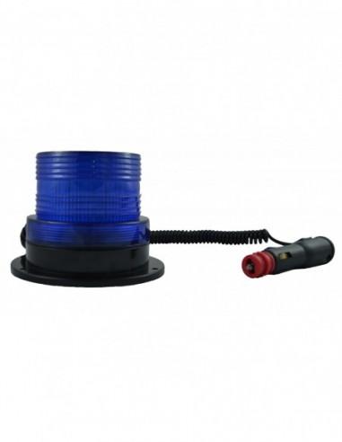 JBM 52828 ROTATING Warning Light FLASHING ROTARY LOW PROFILE-BLUE