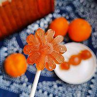 清爽利咽吃橘子——橘汁陈皮棒棒糖的做法图解12