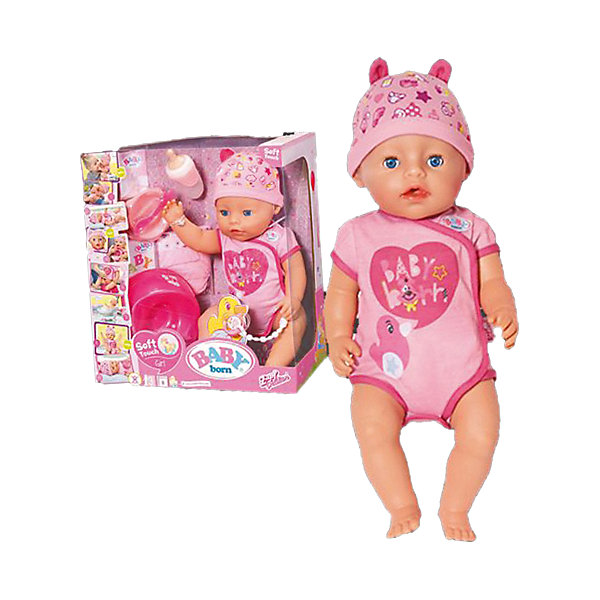 Interactive Doll Zapf Creation Baby Born Girl, 43 Cm
