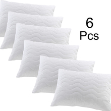 Waterproof Pillow Protector Zippered Allergy Pillow Covers Hypoallergenic Breathable Pillowcase Protects Against Dust Mite