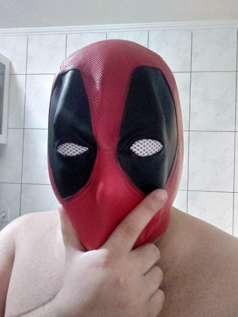 Marvel super-héros masque en Latex
