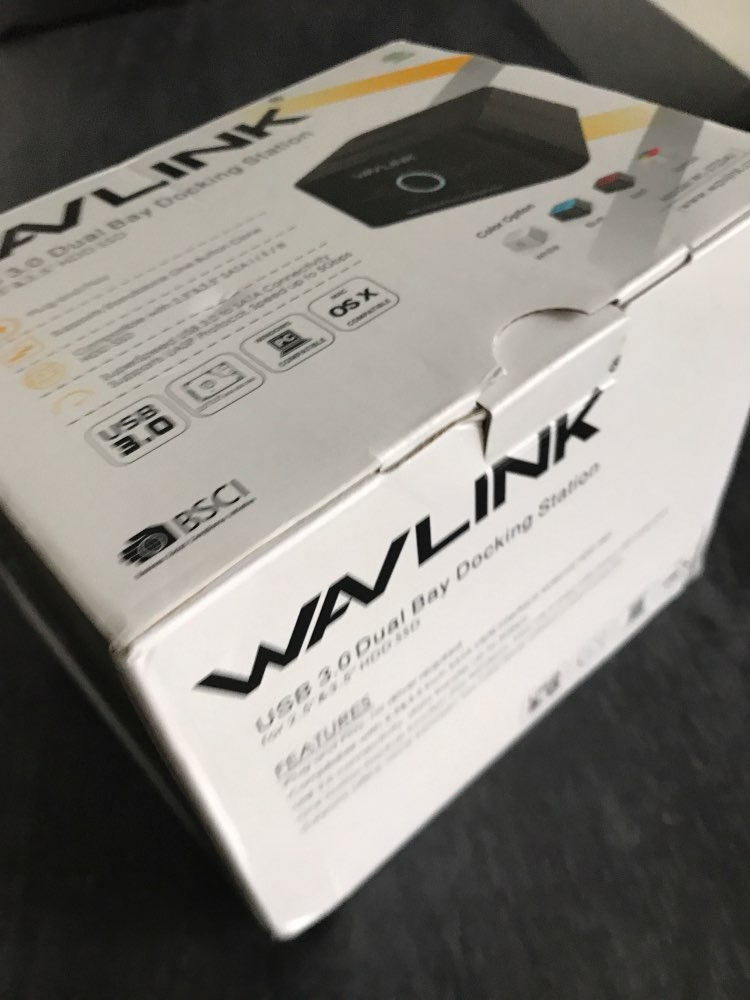 Wavlink Dual Bay SATA to USB3.0 External Hard Drive Docking Station for 2.5/3.5inch HDD/SSD Offline Clone/Backup/UASP Functions reviews №1 38730