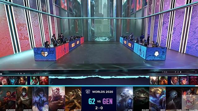 G2三比零淘汰GenG!韩国队杀手名不虚传插图(2)