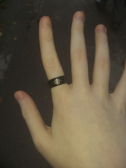SPECIAL OFFER! Konoha Symbol Ring photo review