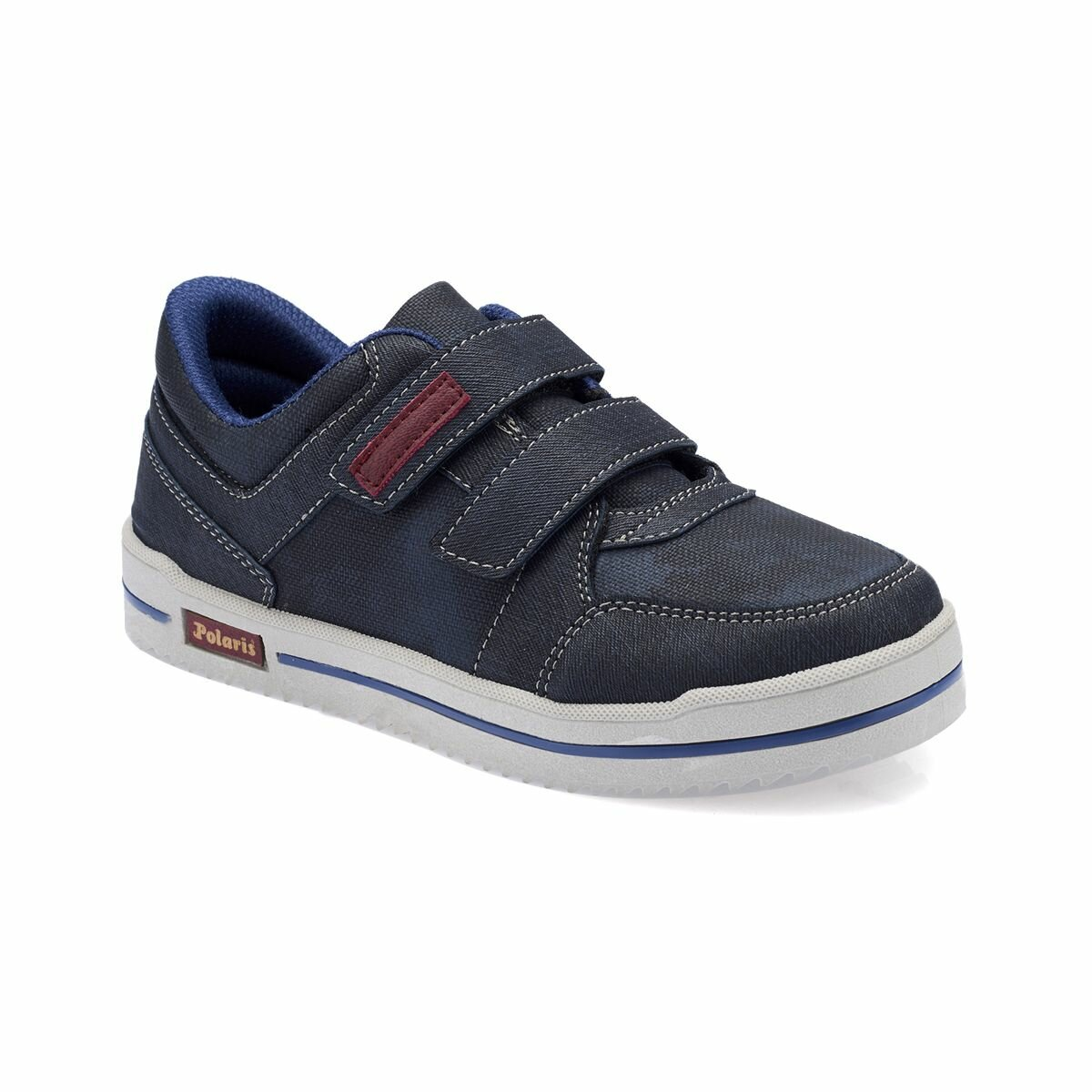 FLO 82.510889.F Navy Blue Male Child Shoes Polaris