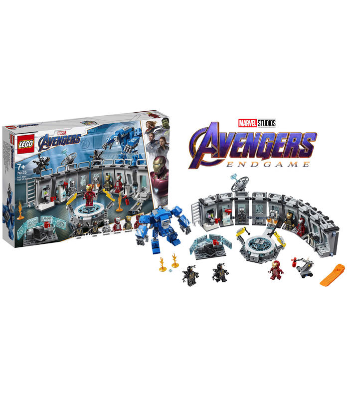 Lego 76125 Iron Man: Living Room Aramduras Toy Store Articles Created Handbook