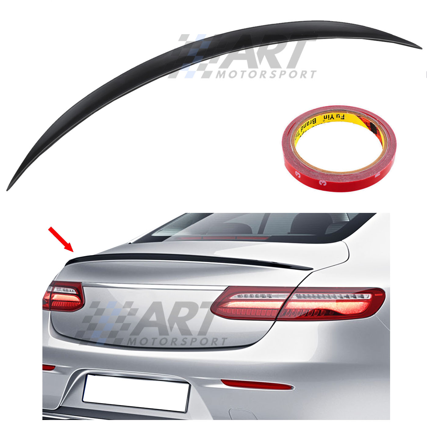 <font><b>Spoiler</b></font> for Mercedes E Class Coupe <font><b>C238</b></font> made from Abs plastic image