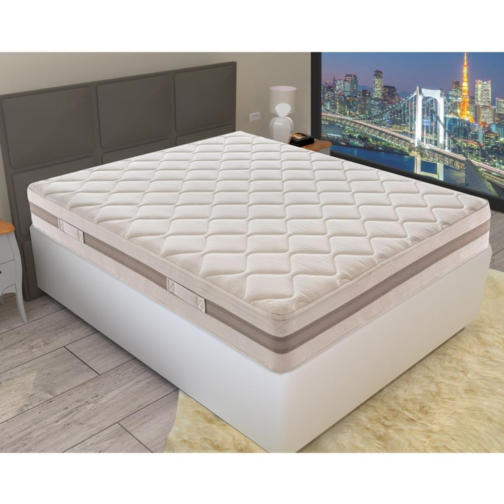 Single/Double Mattress - WaterFoam Height 21 Cm - High Density - 11 Comfort Zone - Made In Italy -