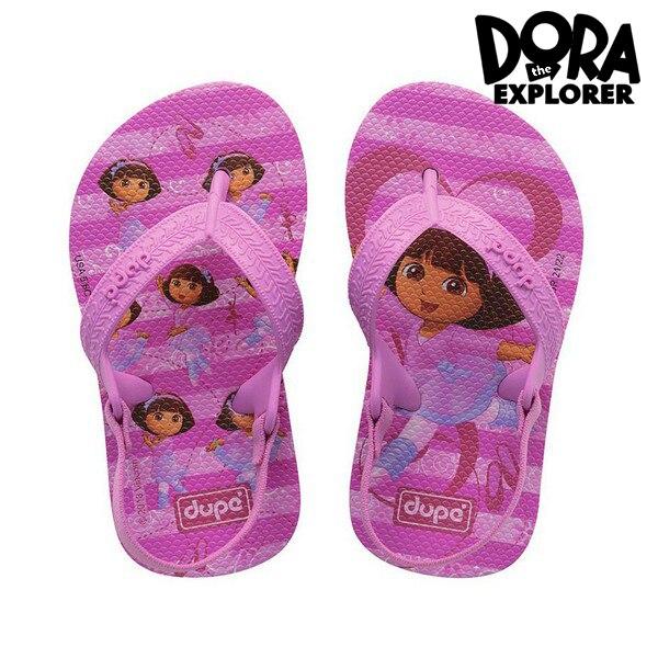 Flip Flops For Children Dupé Dora Pink