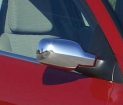 Renault Megane 2 Хромированная зеркальная крышка 2 Prç. П. Сталь 2004-2010