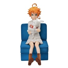 Original Sega The Promised Neverland Emma action Figure PVC Figurals model toys Figurine Brinquedos oenux original savage wild animal wolf action figure gray wolf beast wolves model figurine pvc high quality collection toys gift