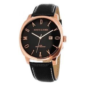 Мужские часы Devota & Lomba DL008M-03BLACK (42 мм)