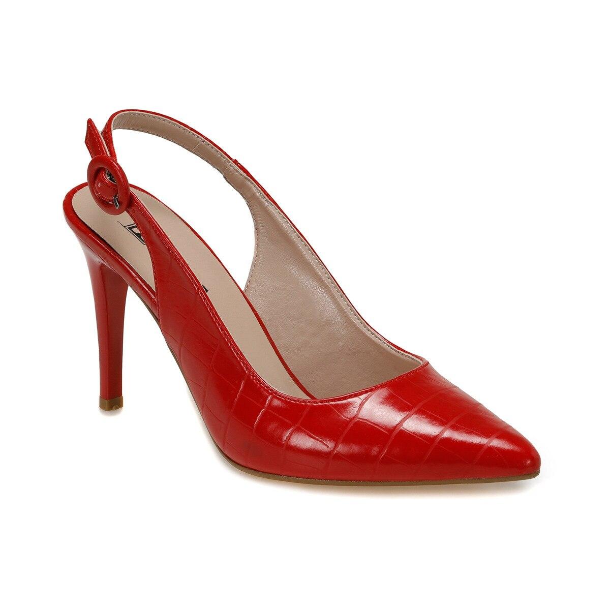 FLO FİNN Red Women 'S Heels Shoes BUTIGO